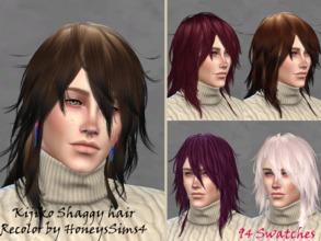 Sims 4 Male Hairstyles - 'kijiko'