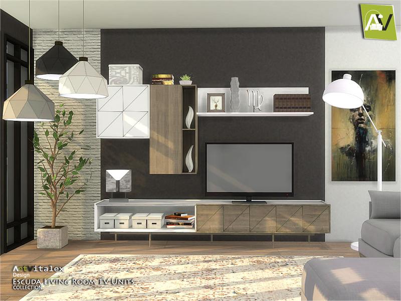 ArtVitalex\'s Escuda Living Room TV Units