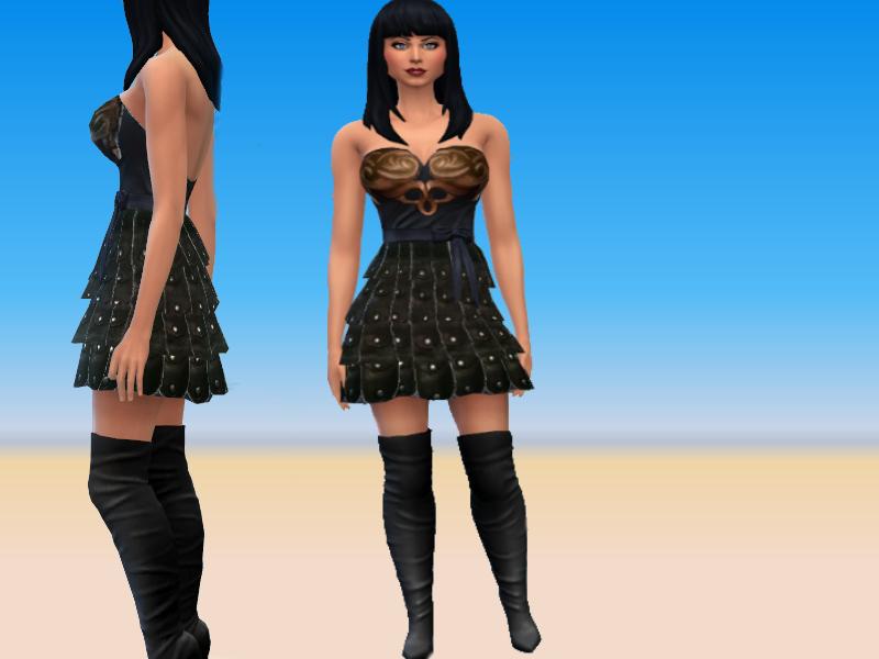 Kirsty178's Xena Dress