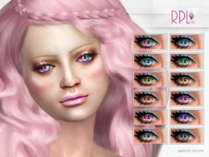 Sims 4 Eye Colors - 'mermaid costume'