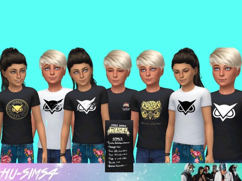 hu-sims4's Vanoss Gaming Tshirts