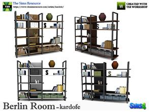 Kardofe Berlin Room Bookshelf