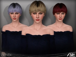 Sims 3 — Ade - Zendi (Female) by Ade_Darma — The reason why i made the female and male separated is because the sims 3