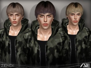 Sims 3 — Ade - Zendi (Male) by Ade_Darma — The reason why i made the female and male separated is because the sims 3