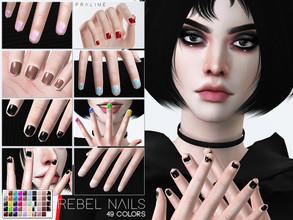 Pralinesimss Sims 4 Downloads Nails