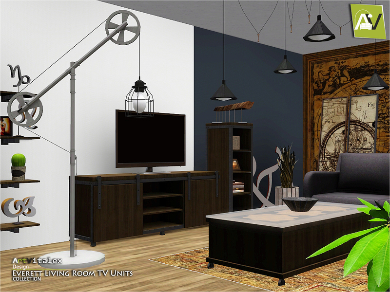 ArtVitalex\'s Everett Living Room TV Units