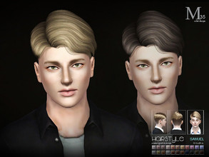 Sims 3 — Sclub TS3 Hair Samuel N35 by S-Club — Hi everyone! Here is my n35 hair for TS3 too! You can find the hair