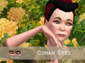 Sims 3 — Conan Eyes by Banok — Yeah i'm finish with my first eyes! So here is eyes from Conan Edogawa from anime