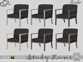 Sims 4 — [Recolor] Study Lumi Desk Chair by BuffSumm — Recolor only! Mesh needed: BuffSumm Study Lumi Part of the *Study