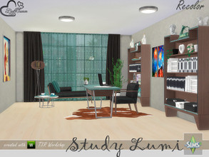 Sims 4 — [Recolor] Study Lumi by BuffSumm — Some Recolors of the Study / Office Lumi... Mesh needed!!!!!!!