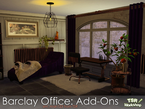 Sims 4 — Barclay Office Add-Ons by sim_man123 — A small set of additional items for my Barclay Office set.