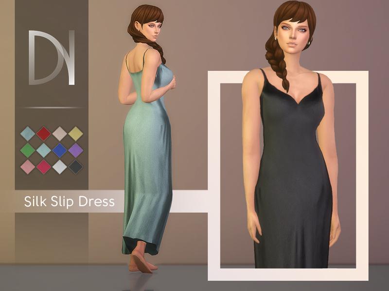 2540d7d93 DarkNighTt's Silk Slip Dress [Sleepwear]