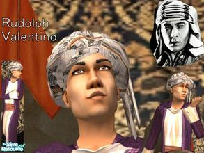 Sims 2 — Rudolph Valentino by Small Town Sim — In time for Valentine's Day. What would it be without the worlds greatest