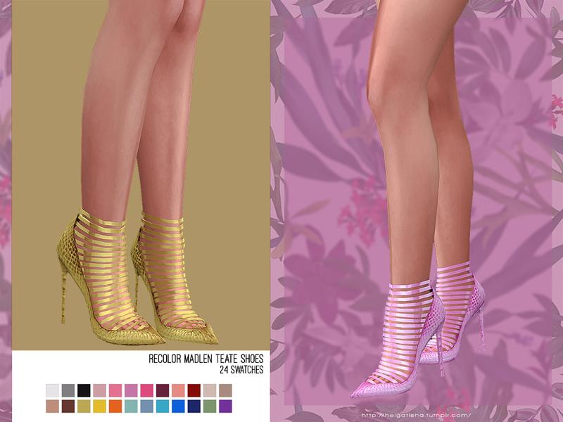 helgatisha Recolor Madlen Teate Shoes - mesh needed