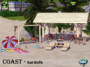 Sims 3 — kardofe_Coast by kardofe — Set of furniture and decorations to recreate a day at the beach