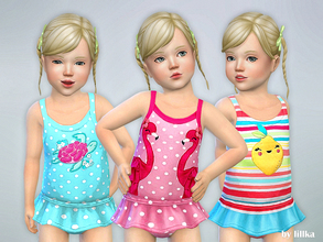 d39e38c8b4 Sims 4 Toddler Female -  swimsuit