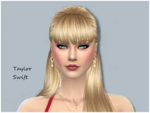 Sims 4 — Taylor Swift by ToriPlayzSims — Taylor Swift is a young adult, a famous singer from the USA. She has the