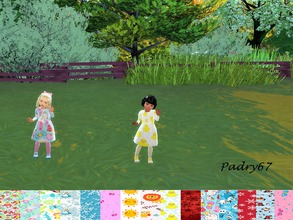 Sims 4 — Dress for toddler autumn-winter - Seasons needed by padry67 — Toddler dress from the Season Expension pack. Even
