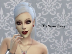 Sims 4 — Vallerie Fang by SullyDark — Halloween Season - Vallerie Fang A sexy vampire ready for action! *Adult *CC links