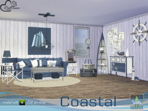 Sims 4 — Coastal Living by BuffSumm — I am late :) I know and I have to say sorry ... but I hope you enjoy the Coastal