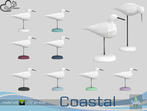 Sims 4 — Coastal Living Deco Seagull v1 by BuffSumm — Part of the *Coastal Living Set* Created by BuffSumm @ TSR