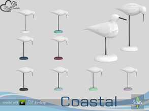 Sims 4 — Coastal Living Deco Seagull v2 by BuffSumm — Part of the *Coastal Living Set* Created by BuffSumm @ TSR