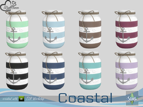 Sims 4 — Coastal Living Deco Jar v2 by BuffSumm — Part of the *Coastal Living Set* Created by BuffSumm @ TSR