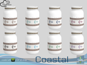 Sims 4 — Coastal Living Deco Jar v3 by BuffSumm — Part of the *Coastal Living Set* Created by BuffSumm @ TSR