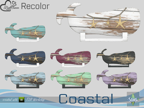 Sims 4 — Coastal Living Decoration Recolor Whale by BuffSumm — Part of the *Coastal Living Set* Created by BuffSumm @ TSR