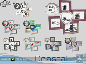 Sims 4 — Coastal Living Decoration Recolor Painting v1 by BuffSumm — Part of the *Coastal Living Set* Created by BuffSumm