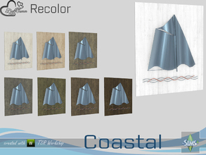 Sims 4 — Coastal Living Decoration Recolor Painting v2.2 by BuffSumm — Part of the *Coastal Living Set* Created by