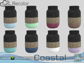 Sims 4 — Coastal Living Decoration Recolor Jar v1 by BuffSumm — Part of the *Coastal Living Set* Created by BuffSumm @