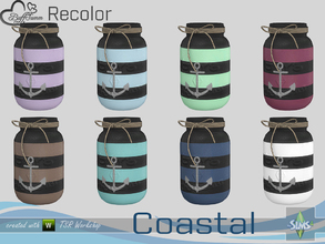 Sims 4 — Coastal Living Decoration Recolor Jar v2 by BuffSumm — Part of the *Coastal Living Set* Created by BuffSumm @