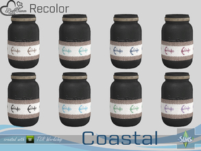 Sims 4 — Coastal Living Decoration Recolor  by BuffSumm — Part of the *Coastal Living Set* Created by BuffSumm @ TSR
