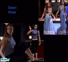 Sims 2 — Dawn Wear by Vanilla_Love — Clothes for Dawn from Buffy the Vampire Slayer