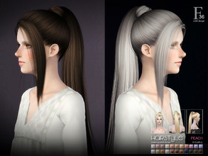 Sims 3 — sclub ts3 hair peach n36 by S-Club — Hi everyone! Here is my n36 hair for TS3 too! You can find the hair clipper