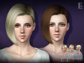 Sims 3 — Sclub ts3 hair bobo n37 by S-Club — Hi everyone! Here is my n37 hair for TS3 too! You can find the hair clipper