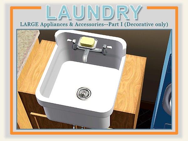 modern laundry room sinks | cashcraft's Modern Laundry Utility Sink
