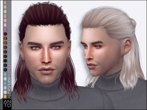 Antos Sims 4 Male Hairstyles
