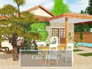 Sims 3 — Cozy Home by Pralinesims — Base game NO EP's and SP's