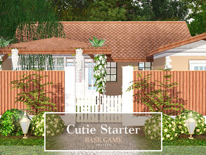 Sims 3 — Cutie Starter by Pralinesims — Base game NO EP's and SP's