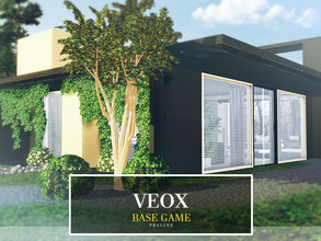 Sims 3 — VEOX by Pralinesims — Base game NO EP's and SP's