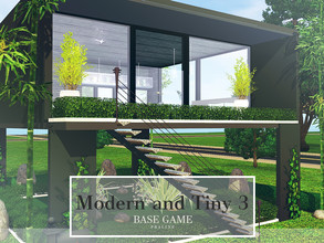 Sims 3 — Modern and Tiny 3 by Pralinesims — Base game NO EP's and SP's