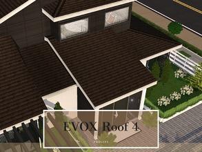 Sims 3 — EVOX Roof 4 by Pralinesims — By Pralinesims