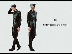 45ebc77497 Military Leather Coat - Vampires.