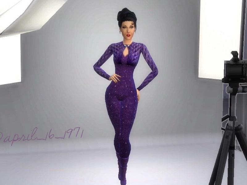 Purple9312 S Selena Quintanilla 1995 Tma Outfit