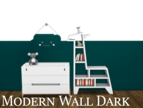 Sims 4 — Modern Wall Dark 2 by modelsims4 — Modern Wall Dark - 10 swatches - Made with Sims4Studio and Adobe Photoshop -