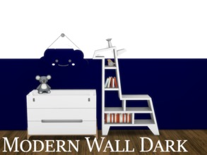 Sims 4 — Modern Wall Dark 10 by modelsims4 — Modern Wall Dark - 10 swatches - Made with Sims4Studio and Adobe Photoshop -