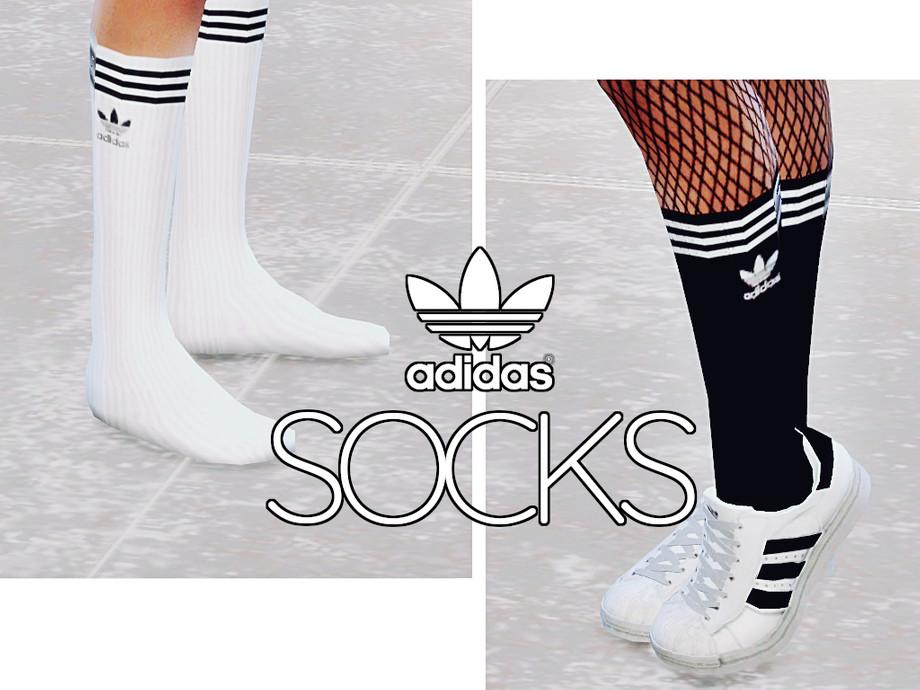 Vaca entrenador Náutico  llamyu's Adidas Calf Length Socks