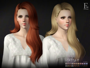 Sims 3 — sclub ts3 hair Vivian n38 by S-Club — Hi everyone! Here is my n38 hair for TS3 too! You can find the hair